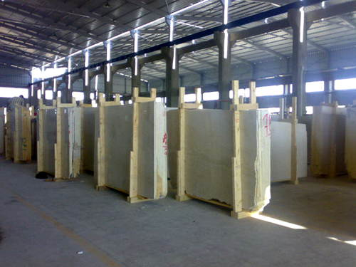 Packaging of Egyptian marble blocks-Wer Stone-WerStone