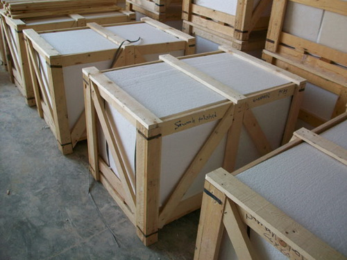 Packaging of Egyptian natural stone blocks-Wer Stone-WerStone