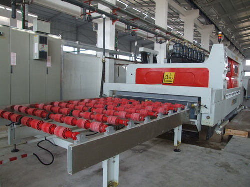 Natural stone block cutting and finishing machine-Wer Stone-WerStone